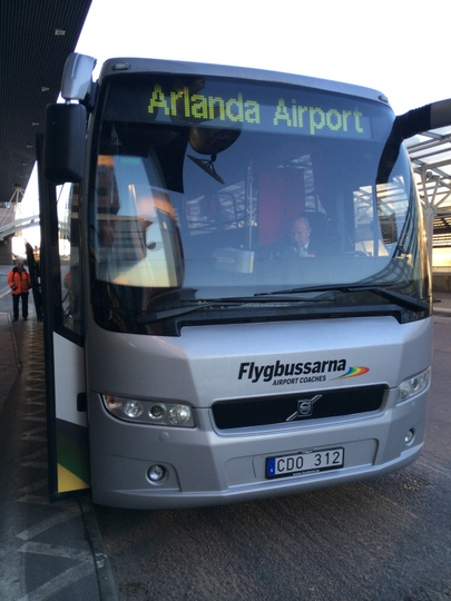 ストックホルム・アーランダ空港から市内へのアクセス【スウェーデン】